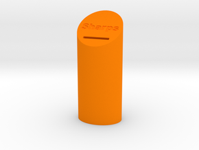 Sharps Disposal Container in Orange Processed Versatile Plastic