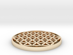Castable Flower of Life in 14K Yellow Gold