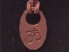 Key chain pendant 11072012 in Pink Processed Versatile Plastic