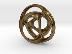 Scherk-Collins Earring in Natural Bronze