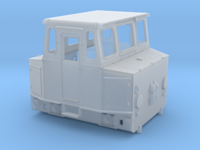 Akkuschlepper H0 Variante 1 in Smooth Fine Detail Plastic