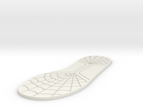 12 inch/30mm Sole in White Strong & Flexible