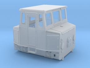 """Akkuschlepper Spur H0 Variante """"Runde Haube"""" in Smooth Fine Detail Plastic"""