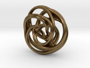 Scherk-Collins Earring 2 in Natural Bronze