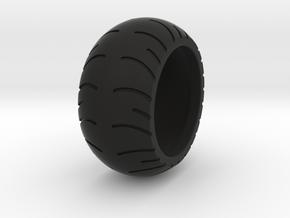 Chopper Rear Tire Ring Size 7 in Black Natural Versatile Plastic