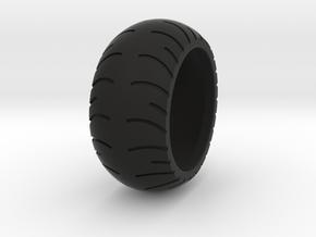 Chopper Rear Tire Ring Size 9 in Black Natural Versatile Plastic
