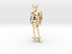 Perseus in 14k Gold Plated Brass