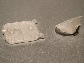 12-Hatch And Drogue in Smooth Fine Detail Plastic