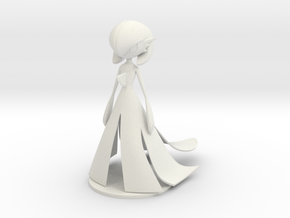Gardevoir in White Natural Versatile Plastic
