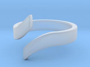 Open Design Ring (23mm / 0.90inch inner diameter) in Smooth Fine Detail Plastic