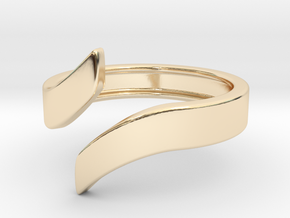 Open Design Ring (30mm / 1.18inch inner diameter) in 14K Yellow Gold
