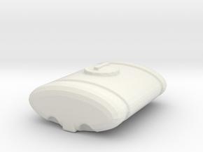1/64 300 gallon Front Tank in White Natural Versatile Plastic