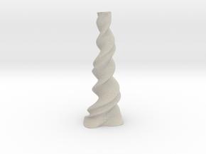 "Vase 'Twist' - 30cm / 11.80"" in Natural Sandstone"