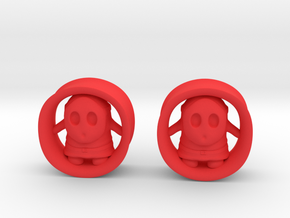 """Shy Guy 7/8""""G set in Red Processed Versatile Plastic"""
