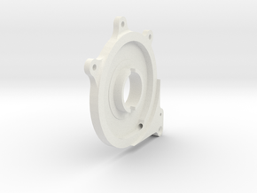 Spitfire  Throttle Airscrew Control plate for Roto in White Natural Versatile Plastic