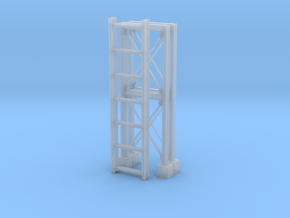 'HO Scale' - Pipe Bridge in Smooth Fine Detail Plastic