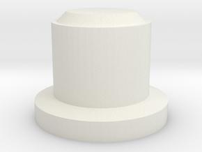 Giant pokeball part 3 in White Natural Versatile Plastic