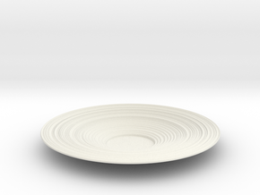 Bowl 25 in White Natural Versatile Plastic