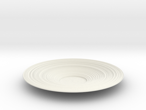 Bowl 42 in White Natural Versatile Plastic