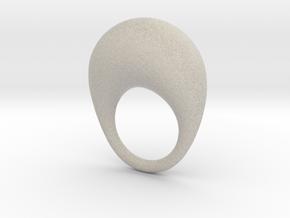 BulgeRingD20mm in Natural Sandstone