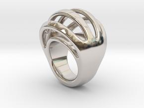 RING CRAZY 15  -  ITALIAN SIZE 15 in Platinum