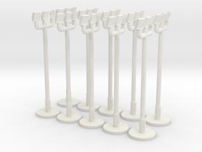 1:400 - Floodlight_v2 [x10] in White Natural Versatile Plastic