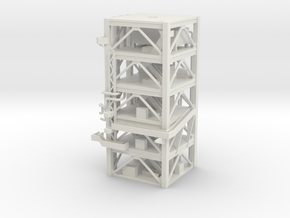 1/400 NASA LUT levels 13-18 Launch Umbilical Tower in White Strong & Flexible