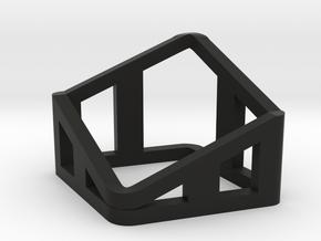 Watch Pillow Frame in Black Natural Versatile Plastic
