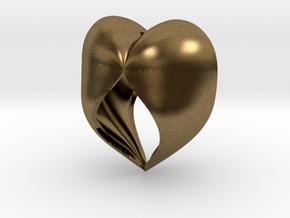 Heartful in Natural Bronze