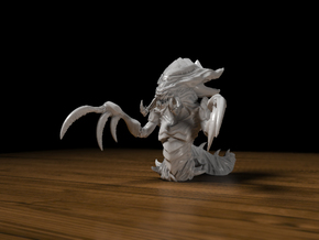 Hydralisk 42mm in Smooth Fine Detail Plastic