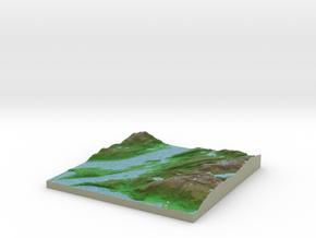 Terrafab generated model Sun Feb 15 2015 02:24:31  in Full Color Sandstone
