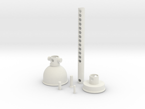 Extrudable Restorer in White Natural Versatile Plastic