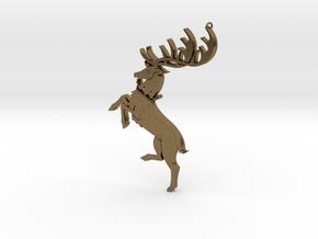 Baratheon Pendant in Natural Bronze