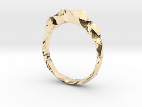 shard ring in 14k Gold Plated Brass