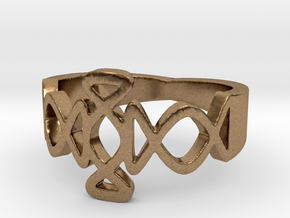 Igraine Ring Size 6 in Natural Brass