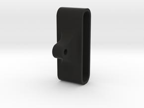 Phone Holder 3 in Black Natural Versatile Plastic
