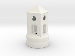 Belltowertoprint in White Strong & Flexible