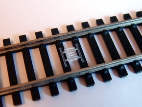 Train Protection Warning System: Buffer Stop Grids in Smooth Fine Detail Plastic
