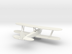 Polikarpov PO-2 1/144 in White Natural Versatile Plastic: 1:144