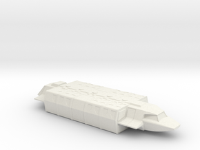 Shuttle (Large) in Flight (V, The Visitors) in White Natural Versatile Plastic: 1:72
