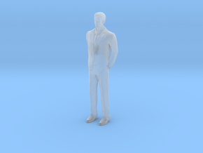 Man Standing 16th in Smooth Fine Detail Plastic