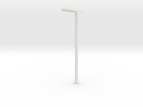 DSB Stations lampe VIA 1/87  in White Natural Versatile Plastic