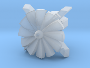 Turbine Cherry MX Keycap in Smooth Fine Detail Plastic