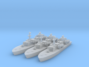 1/1800 Soviet OSA-2 Missile boat in Smooth Fine Detail Plastic