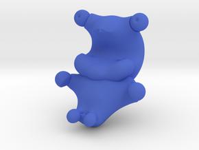 Cookie Monster in Blue Processed Versatile Plastic