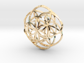 Floweroflife in 14K Yellow Gold