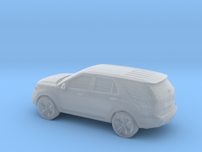 1/87 2011 Ford Explorer in Smooth Fine Detail Plastic