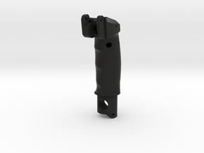 KG 13 Upper Part in Black Natural Versatile Plastic