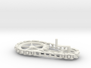 Chain Gear in White Strong & Flexible