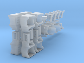 Steam Loco Combo Pack - S in Smooth Fine Detail Plastic